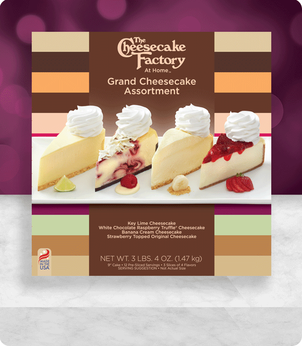 Grand Cheesecake Assortment