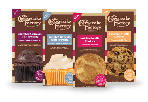 Cookie and Cupcake Mixes